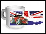 Koolart CLASSIC BRITISH Design For Retro Ford Escort XR3i - Ceramic Tea Or Coffee Mug